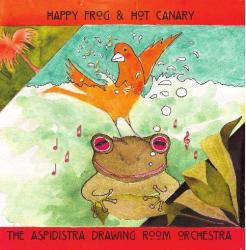 Happy Frog & Hot Canary CD sleeve