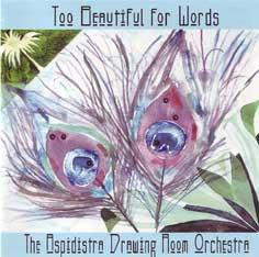 Too Beautiful For Words CD sleeve